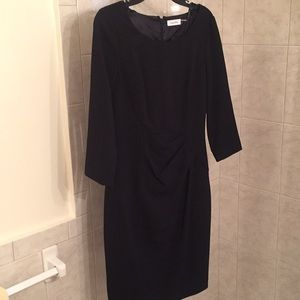 Calvin Klein size 4 black dress great for work